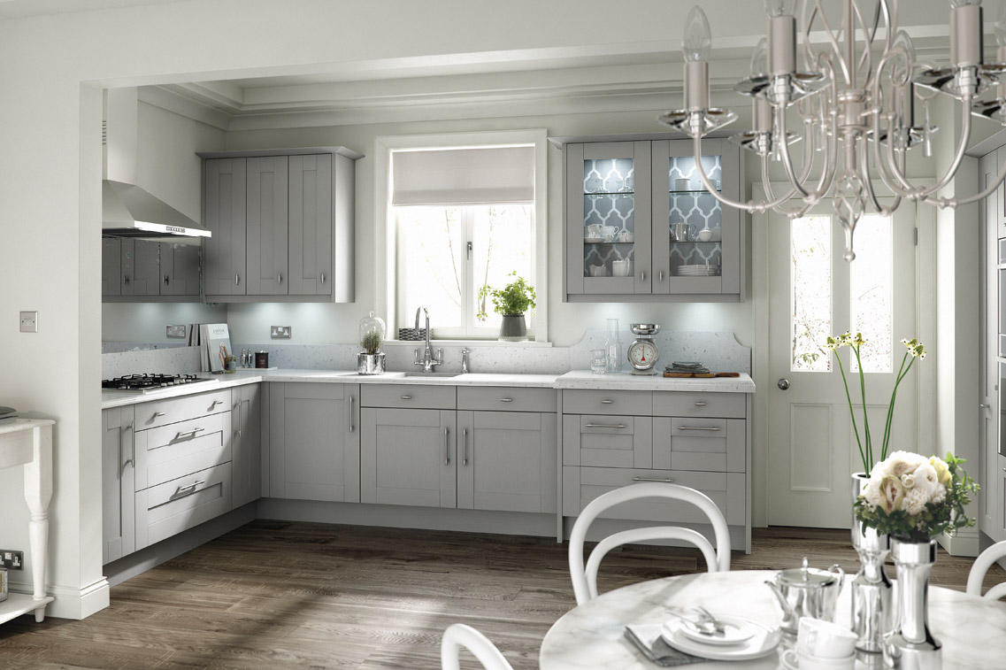 Broadoak Partridge Grey The Kitchen Workshop